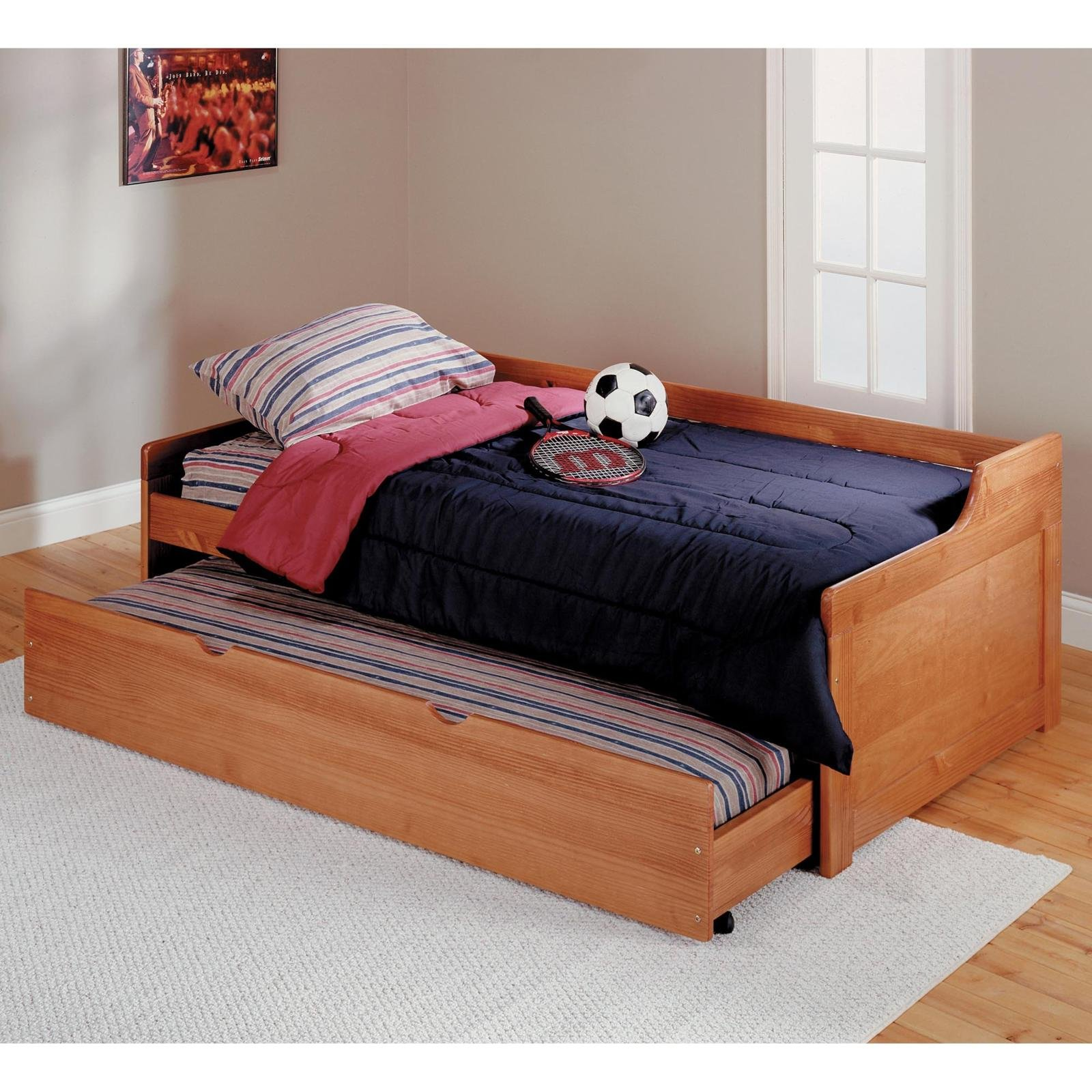 Woodworking trundle bed plans twin
