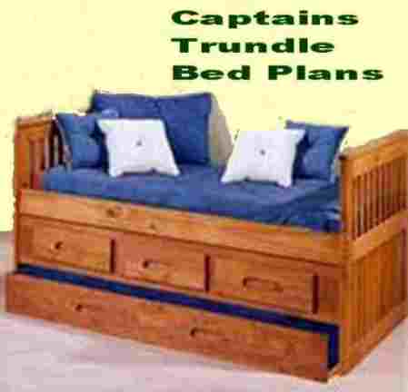 Trundle bed plans bed plans diy amp blueprints