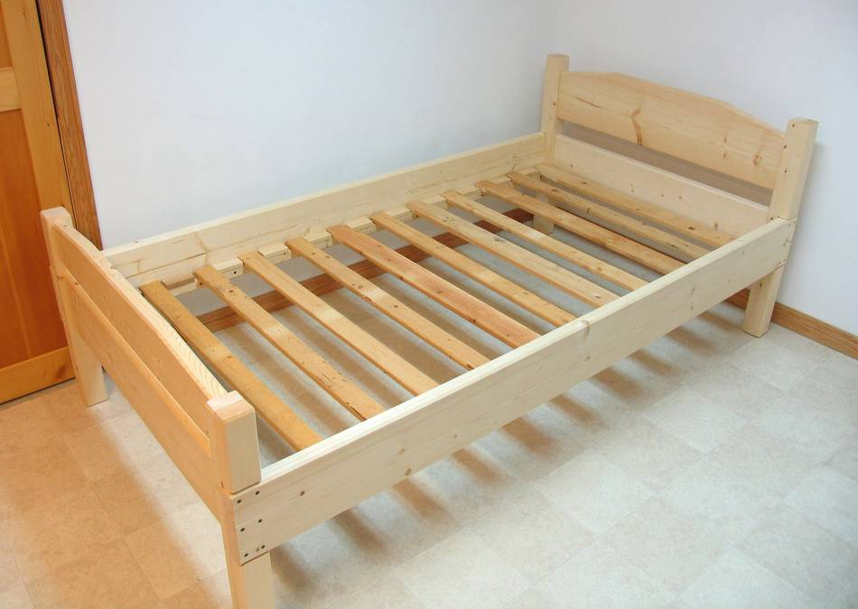 twin bed support woodworking plans