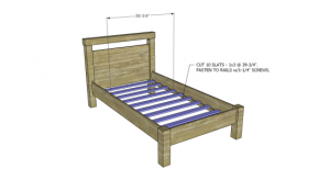 Twin Bed Plans