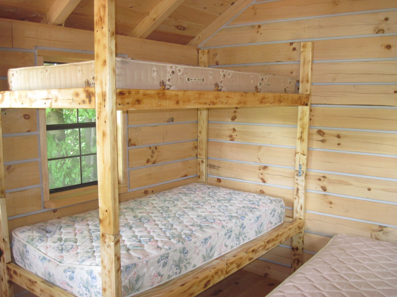 Pdf diy bunk bed plans queen download built in bookshelves 2 twin beds make a queen