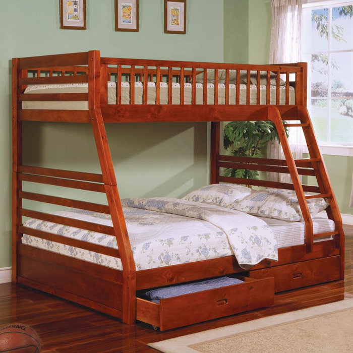 twin xl over queen bunk bed plans » woodworktips