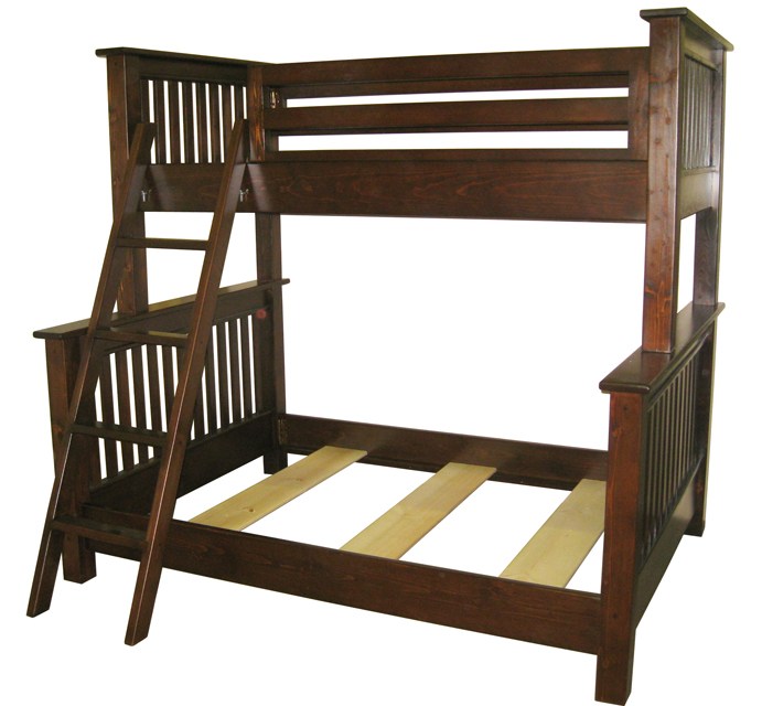 plans for twin over queen bunk bed | Quick Woodworking Projects
