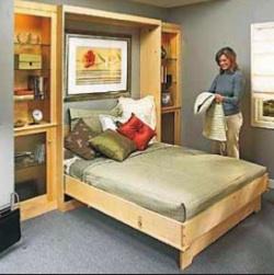 Wall Bed Plans Bed Plans Diy Amp Blueprints