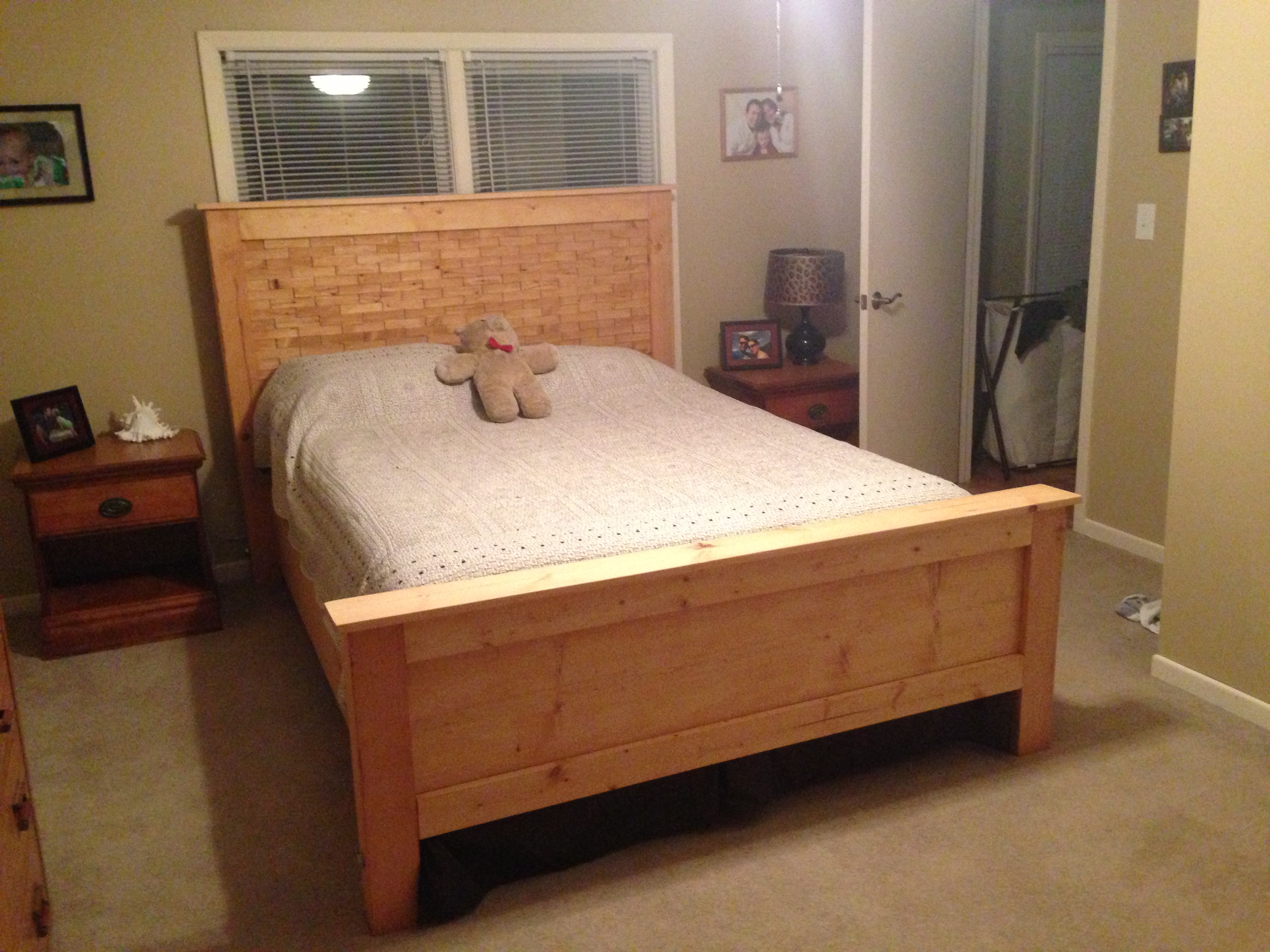 wood bed plans bed plans diy blueprints