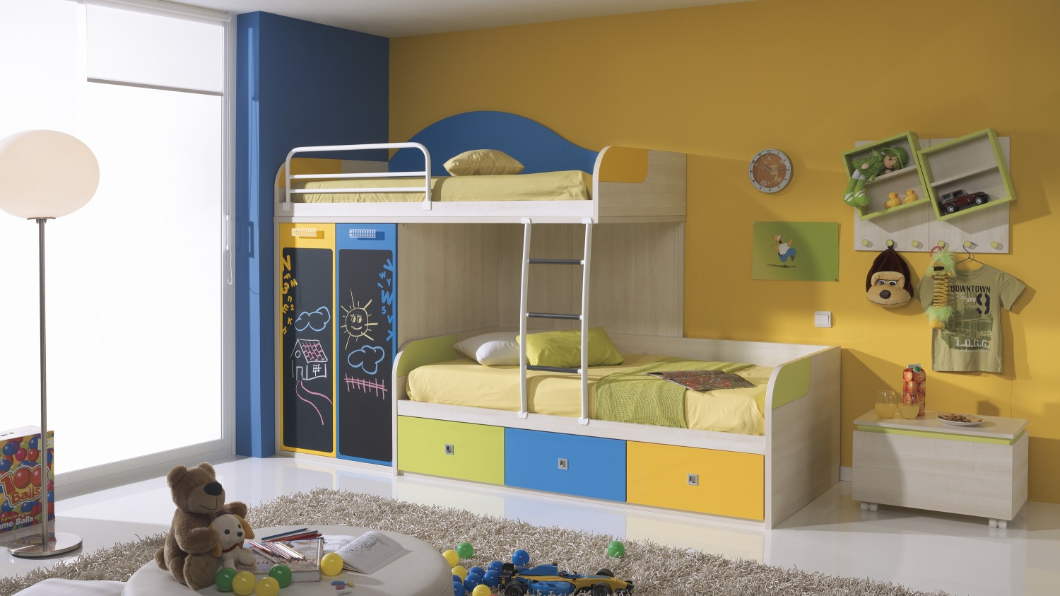 2 4 bunk bed plans bed plans diy blueprints for Furniture for toddlers room