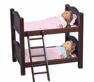 american doll bunk bed plans