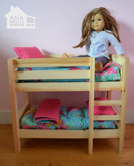 Baby+Doll+Bunk+Bed+Plans American Girl Bunk Bed Plans | BED PLANS DIY ...