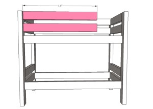 American Girl Bunk Bed Plans