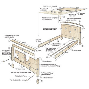 Bed Plans Woodworking