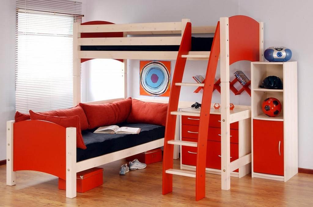 Bunk bed plans for kids bed plans diy blueprints for Blueprints for kids