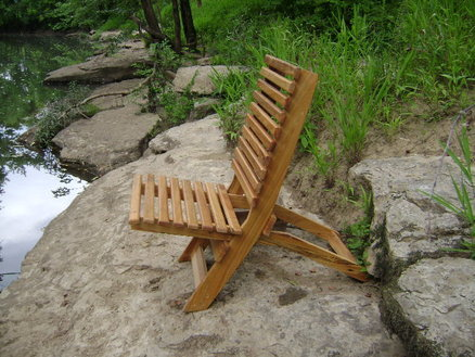 Wooden Camp Chair Plans