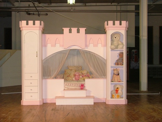 Free Princess Castle Bunk Bed Plans Woodworktips