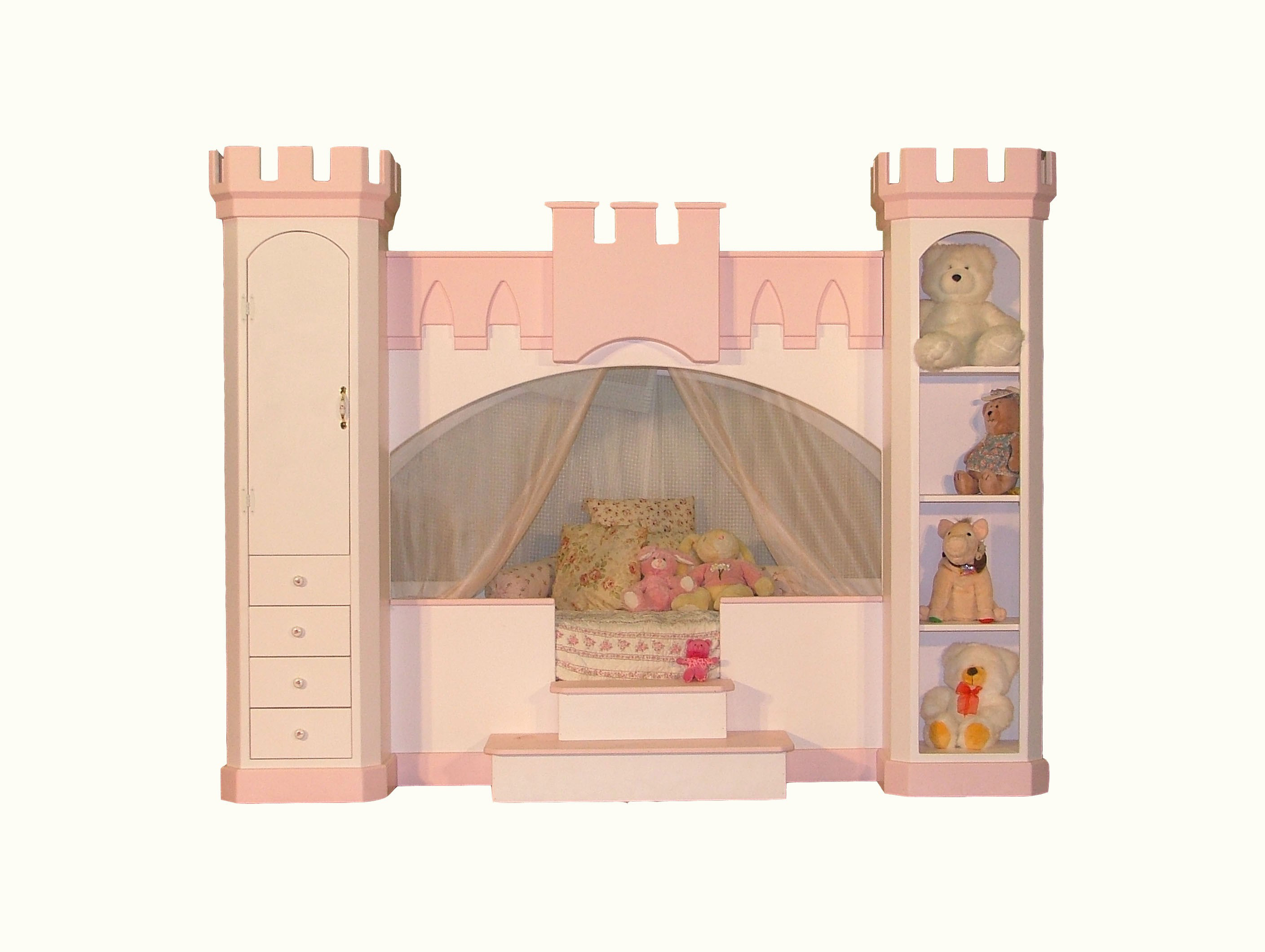free princess castle bunk bed plans | woodwork