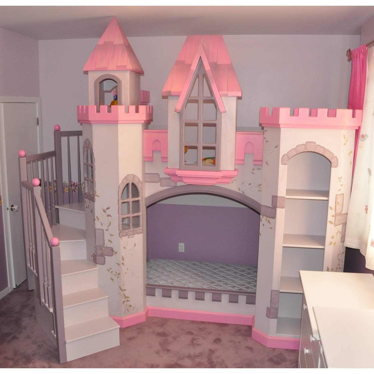 princess bed plans bunk