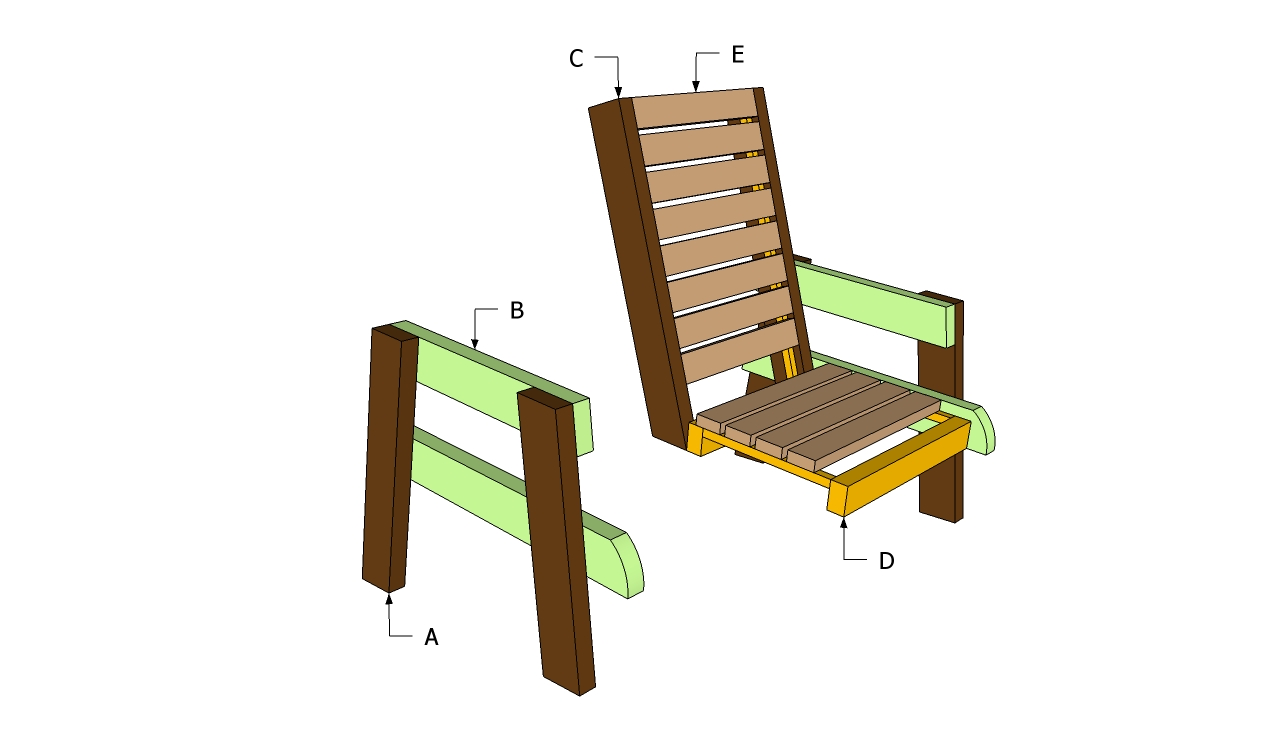 Desk High Chair Woodworking Plans Free Diy