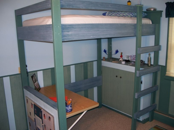 Woodworking loft bed plans college PDF Free Download