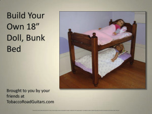 Doll Bunk Bed Plans