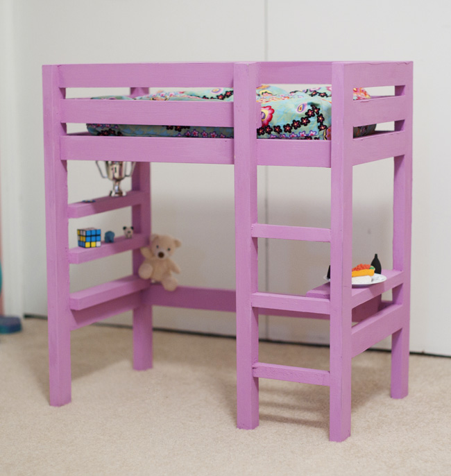 Woodwork Doll Loft Bed Plans PDF Plans