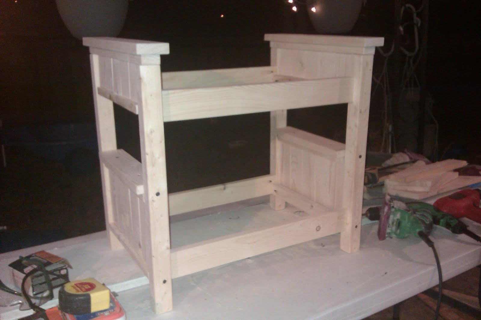 18 Doll Bunk Bed Plans Free patterns for doll bunk beds woodworking ...