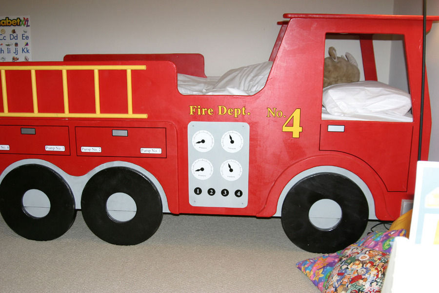 Fire Truck Bed Plans | BED PLANS DIY & BLUEPRINTS