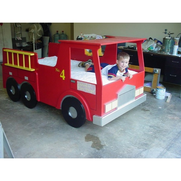 Fire Truck Bed Plans Bed Plans Diy Amp Blueprints