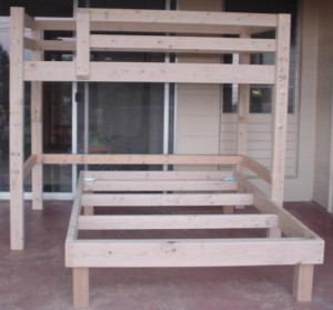 Homemade Bunk Bed Plans