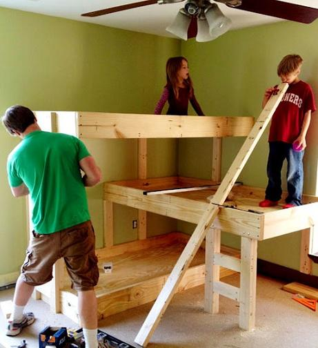 bunk bed plans diy