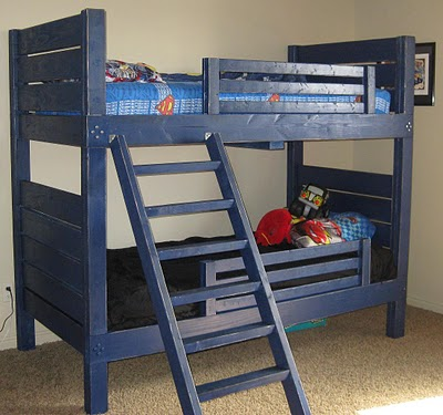 bunk bed diy plans