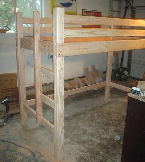 bunk bed plans loft