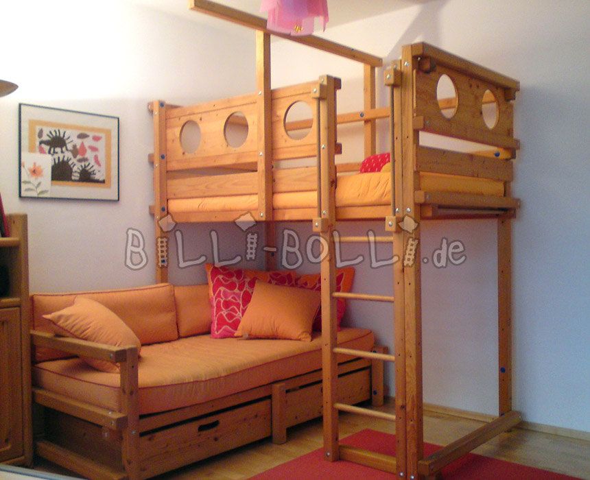 Loft bunk bed plans bed plans diy blueprints Loft bed plans