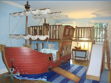 Pirate Ship Bed Plans | BED PLANS DIY & BLUEPRINTS