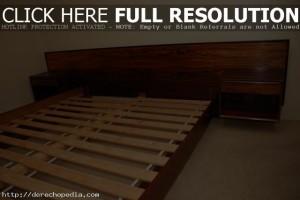Platform Bed Plans King