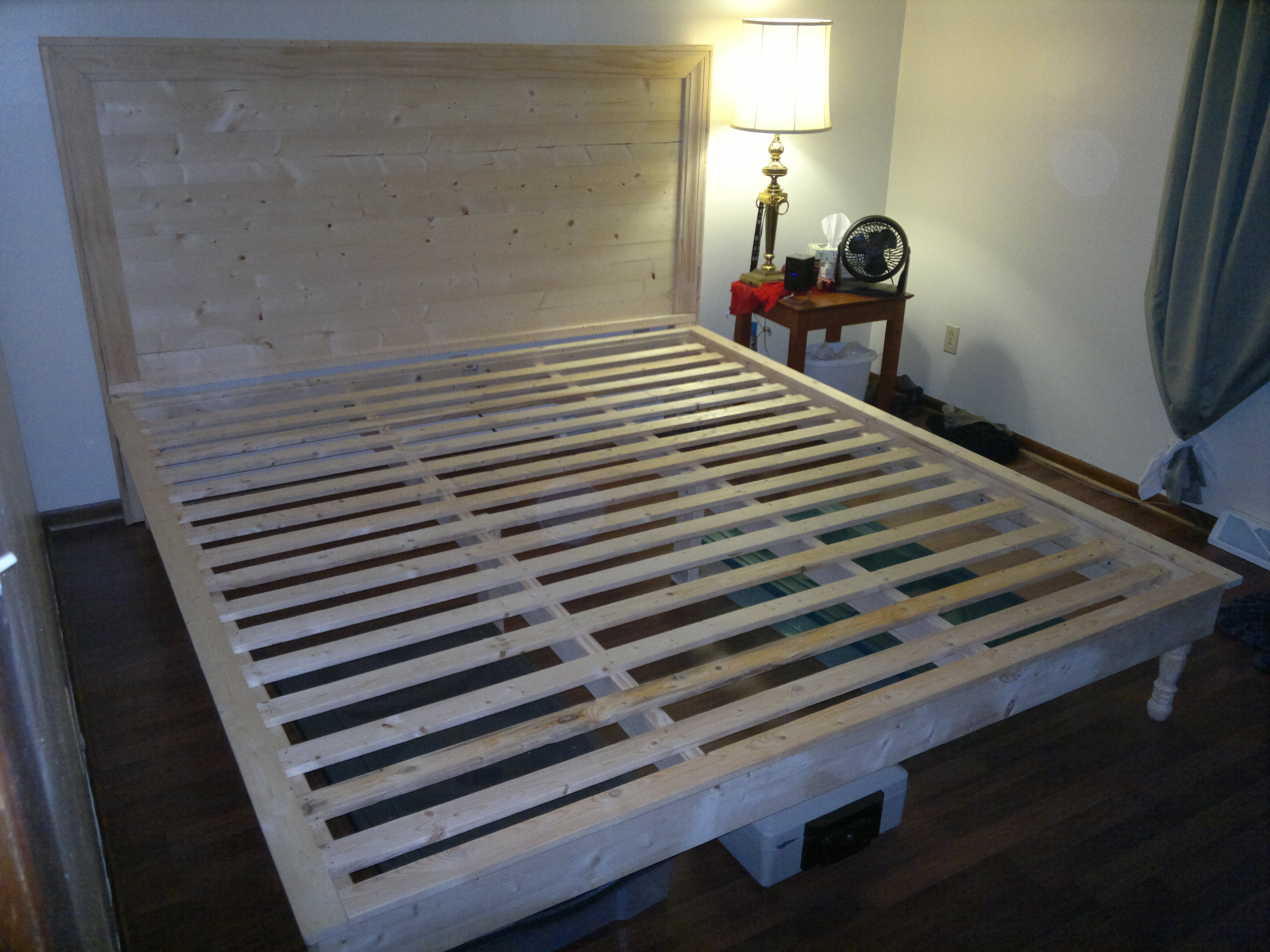 diy king size platform bed frame plans | Discover Woodworking Projects