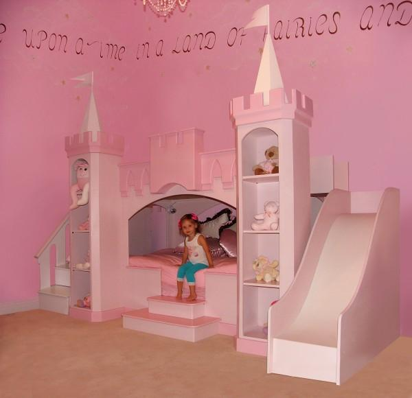 Pics Photos - Princess Bunk Bed Plans
