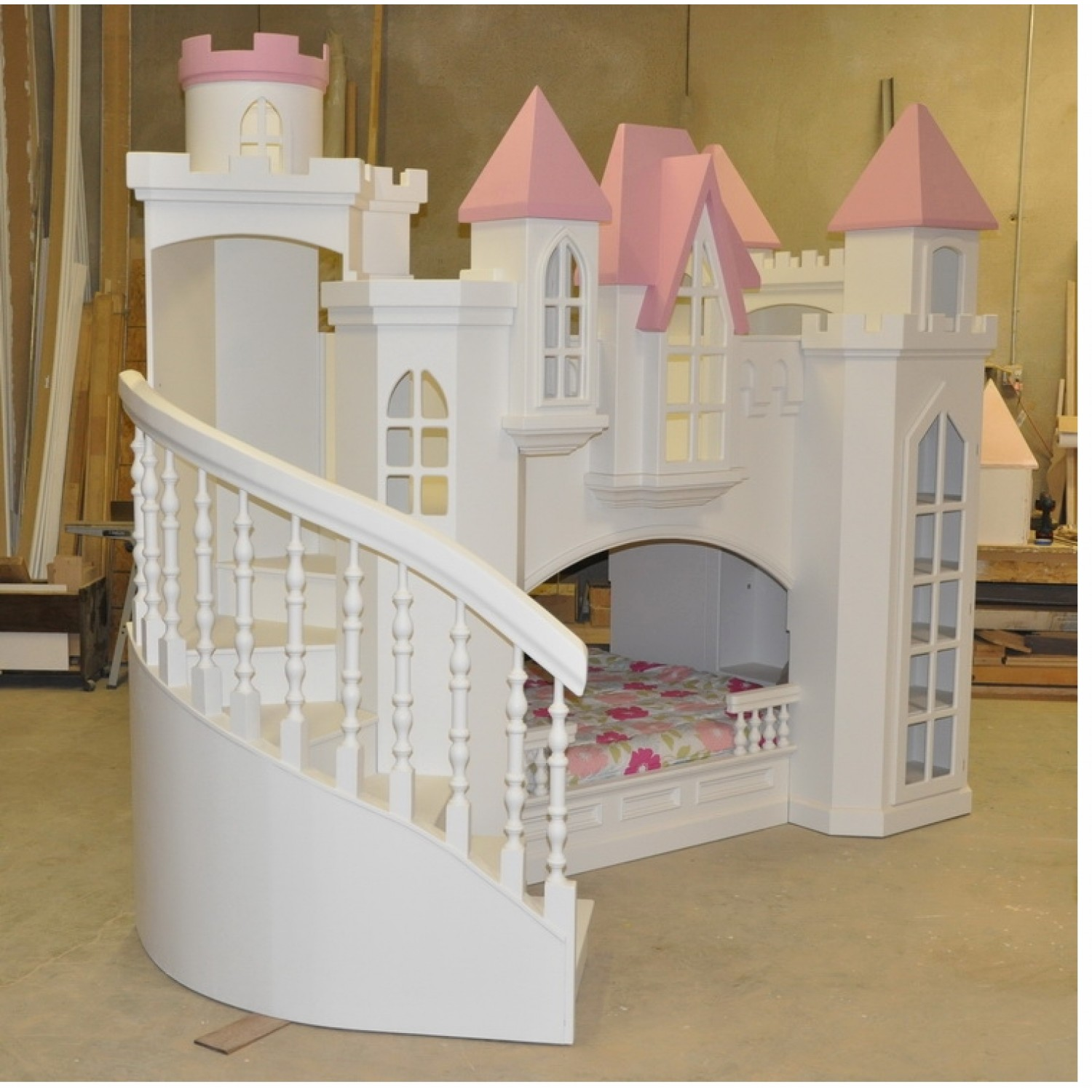 Princess Castle Bed Plans | BED PLANS DIY & BLUEPRINTS