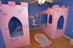 Princess Castle Bed Plans