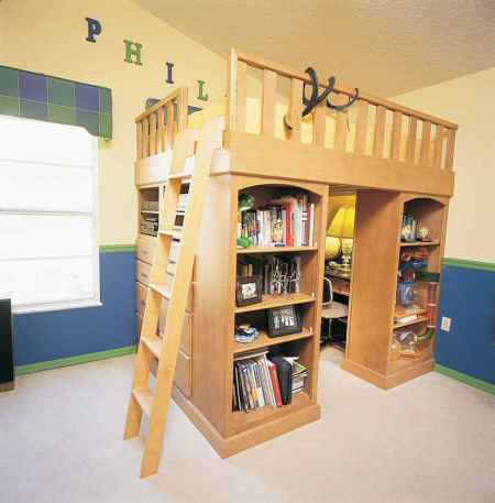 Woodwork How To Build A Queen Size Loft Bed Pdf Plans