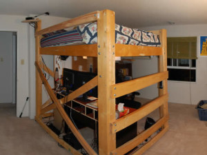 Queen Size Loft Bed Plans
