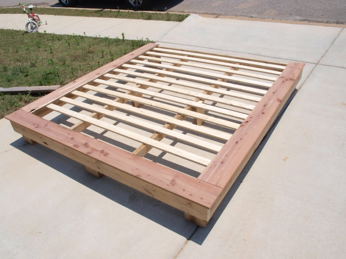 Diy Queen Size Platform Bed Plans, This... - Amazing Wood Plans