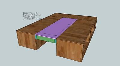 Queen Storage Bed Plans | BED PLANS DIY & BLUEPRINTS