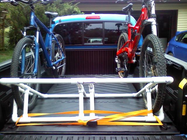Truck Bed Bike Rack Plans Bed Plans Diy Amp Blueprints