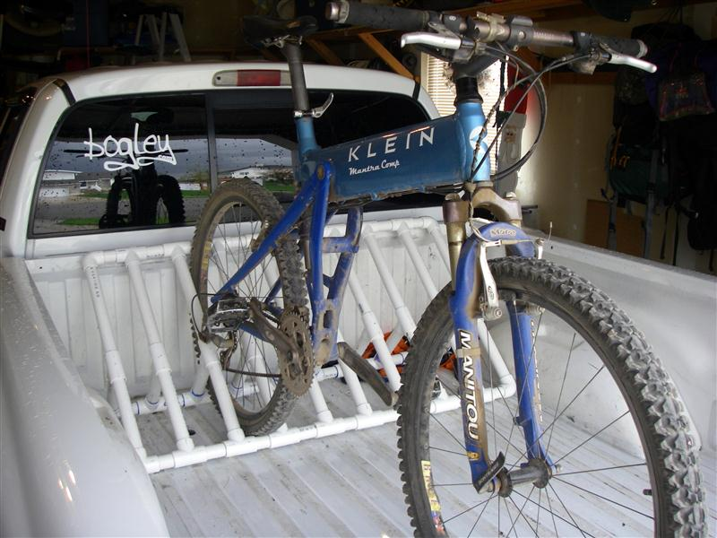 Bike Racks For Trucks Pvc Truck Bed Bike Rack Plans
