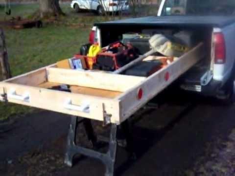 Truck Bed Slide Out Plans | BED PLANS DIY & BLUEPRINTS