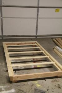 Twin Platform Bed Plans
