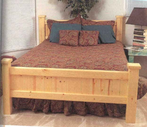 Woodworking Plans For Beds Bed Plans Diy Amp Blueprints