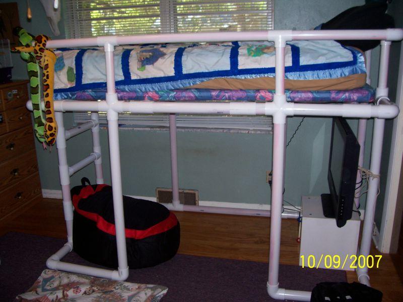 Bed Loft Plans   BED PLANS DIY & BLUEPRINTS