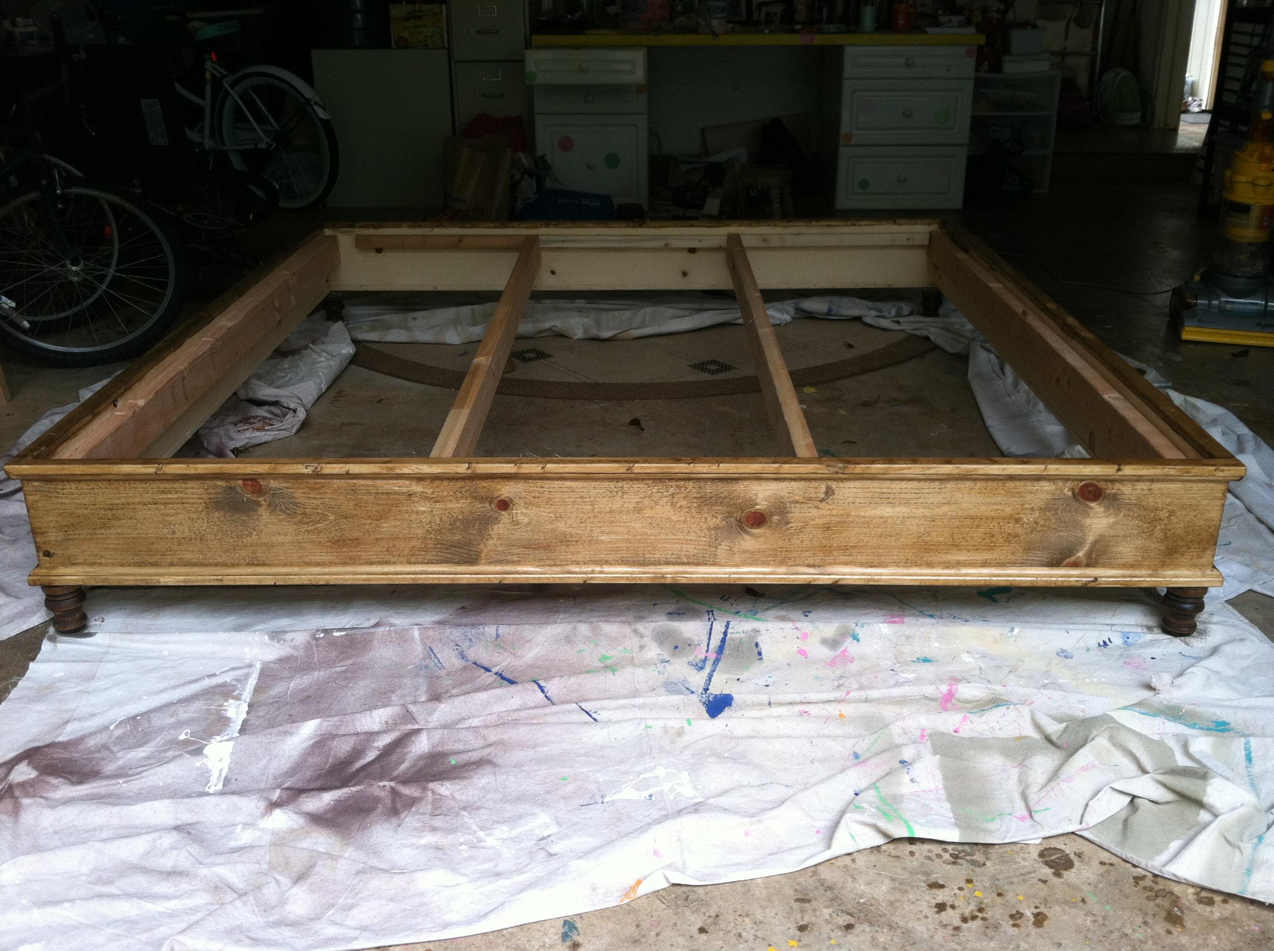 King Platform Bed Plans | BED PLANS DIY & BLUEPRINTS