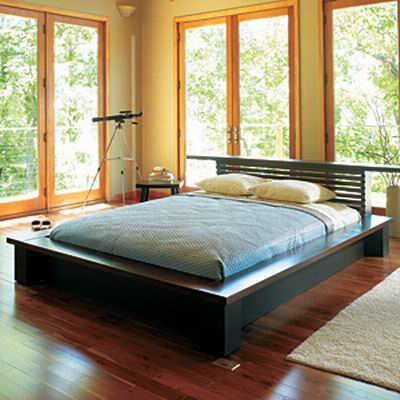 King Platform Bed Plans   BED PLANS DIY & BLUEPRINTS