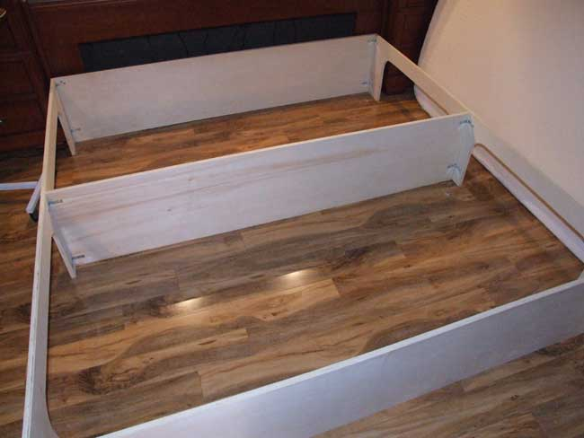 Free Woodworking Plans Bed With Storage